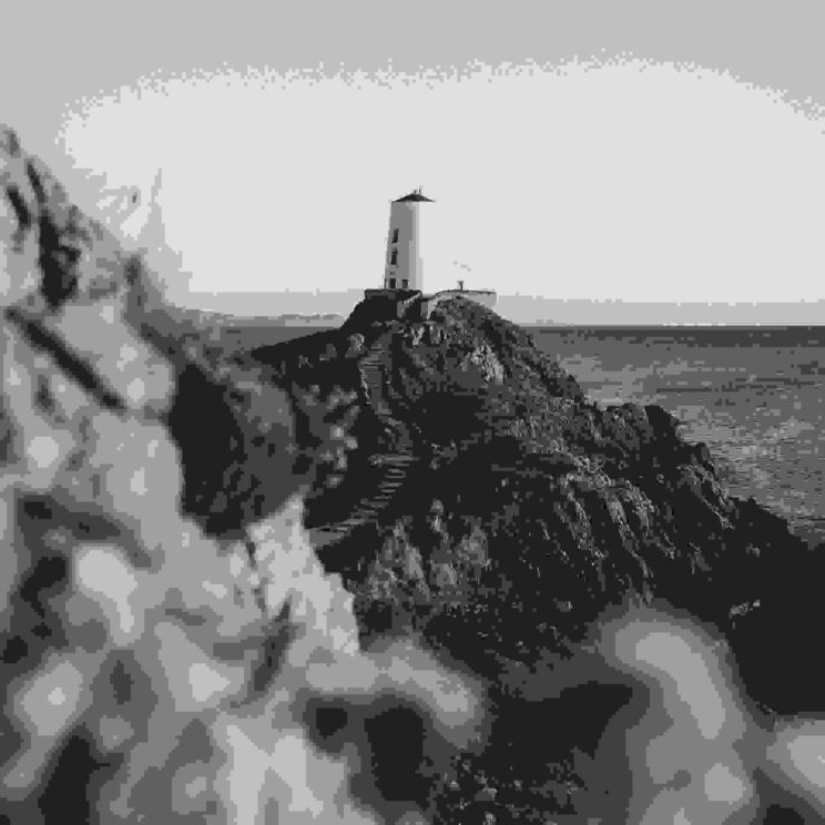 Approaching lighthouse